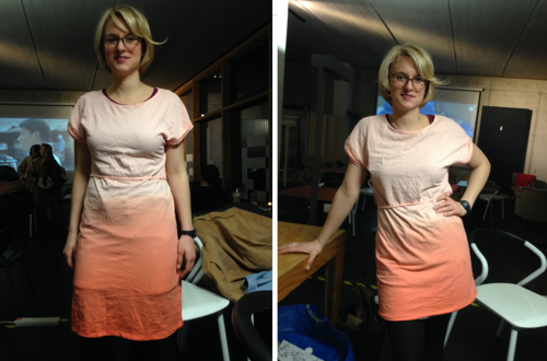 Tauschparty_Greenpeace_Apricotkleid